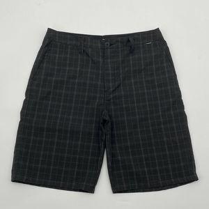 Hurley Shorts - Hurley Barcelona Walk Bermuda Shorts Black
